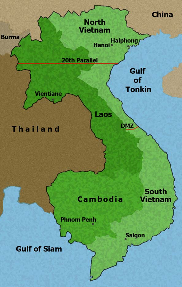 vietnam-map-Nixon-library