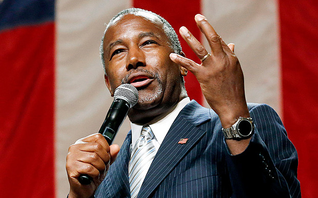 Ben Carson 'not worried' by Trump