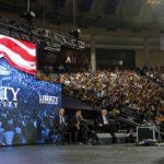 Bernie Sanders at conservative Christian university