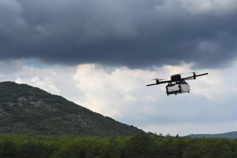 Walmart seeks to test drones for home delivery, pickup