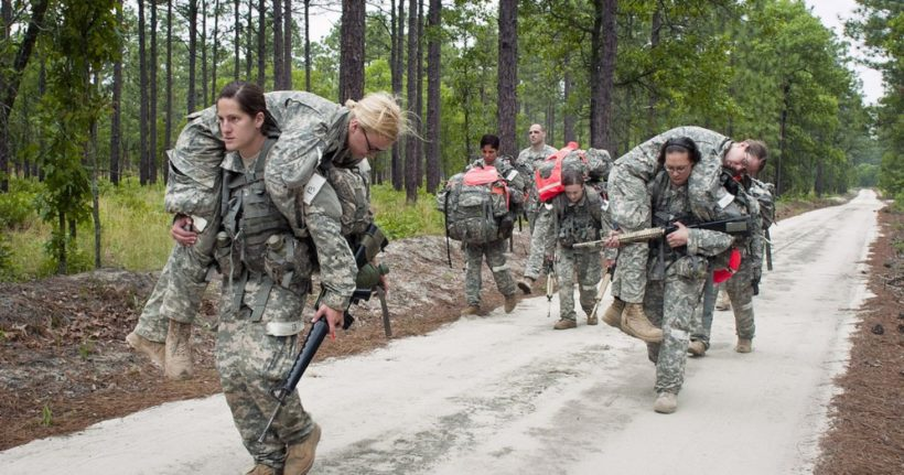 All-male infantry units outperform teams with women