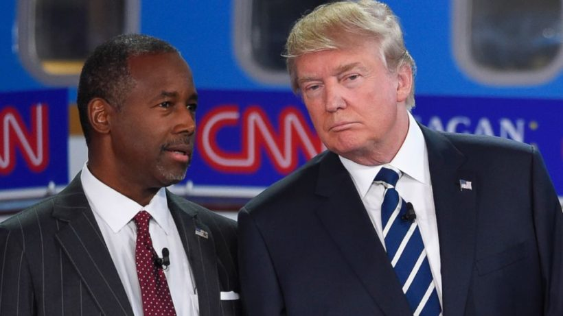 Carson, Trump request Secret Service protection