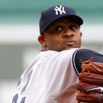 Yankee Pitcher CC Sabathia