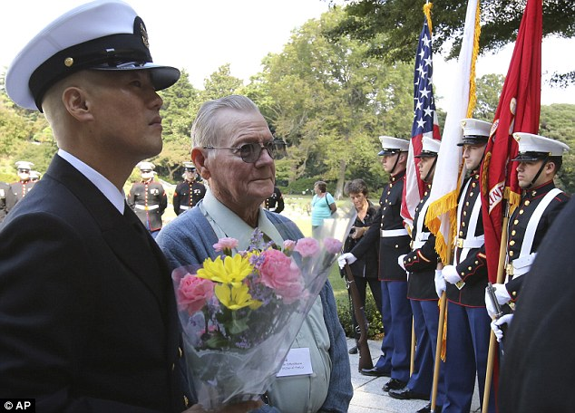 POWs visit Japan for 70th anniversary of the end of World War II