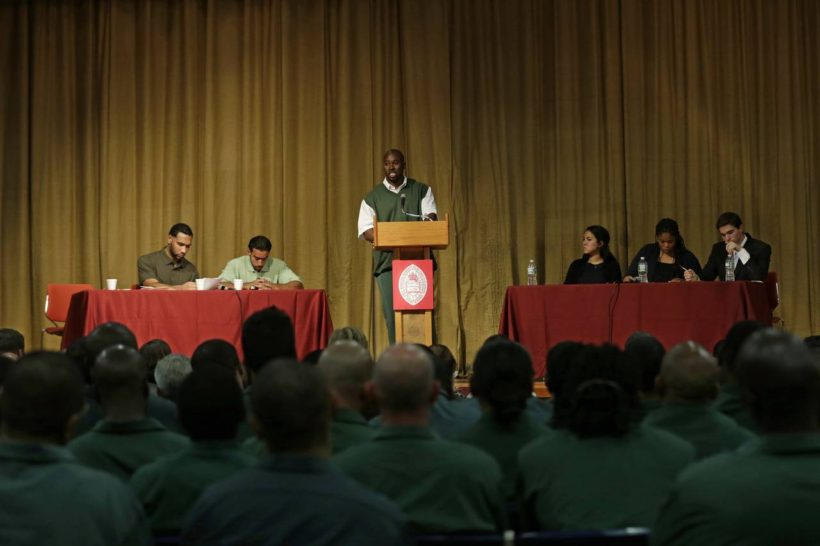 Prison vs. Harvard in an Unlikely Debate