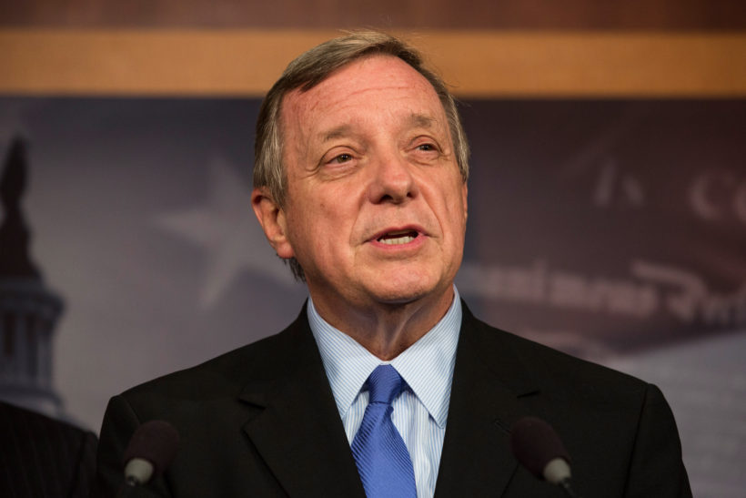 Sen. Dick Durbin, Democrat, Illinois (Photo: Andrew Burton/Getty Images)
