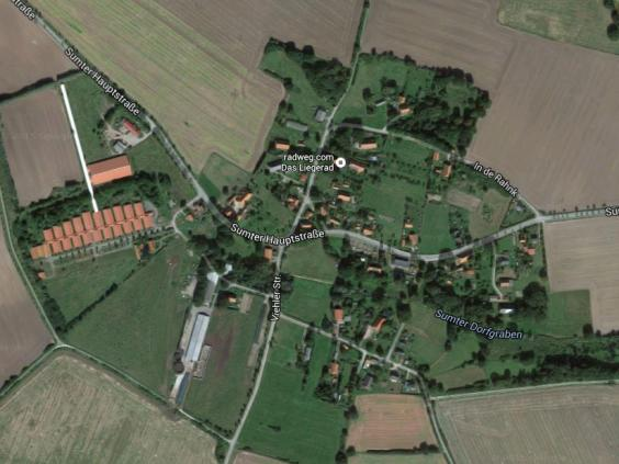 Sumte, Lower Saxony, Germany Google Maps (UK Independent)