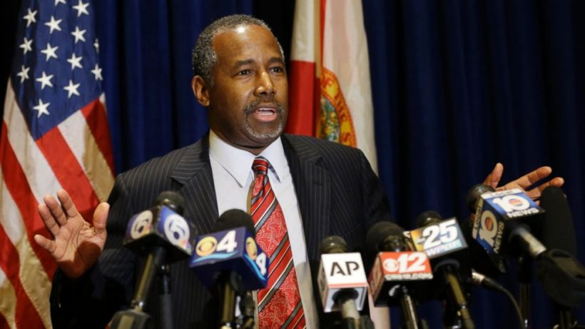 Ben Carson and the media