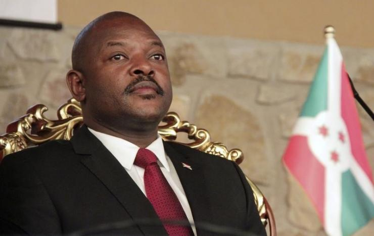 Burundi's President Pierre Nkurunziza is seeking a third term, despite the constitution limiting the president to two. (Reuters)