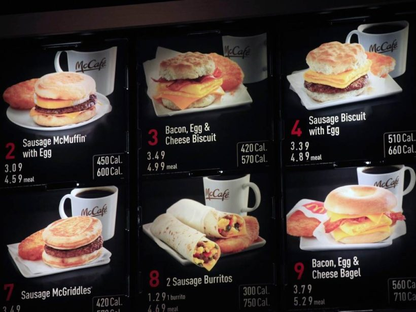 Calorie counts on menus aren't working, new research shows