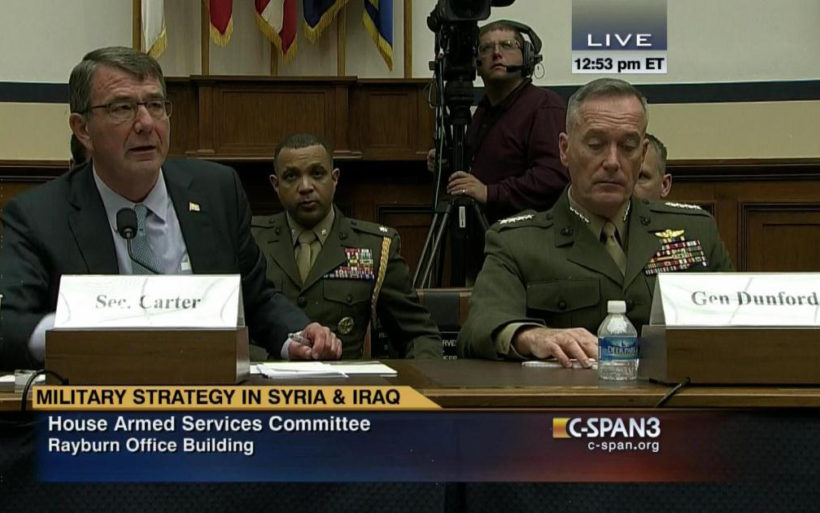 Joint Chiefs chairman: 'We have not contained' ISIS