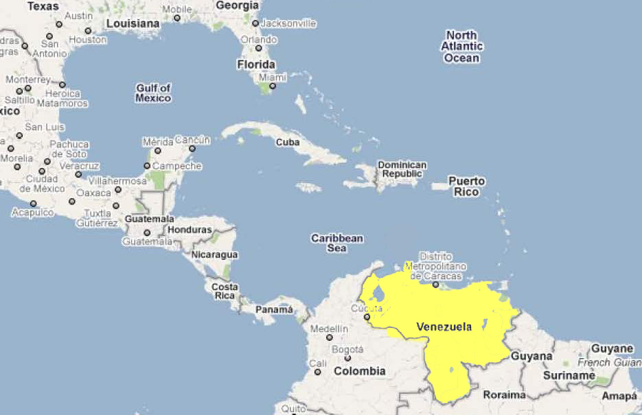 Tuesday's World #3 – VENEZUELA on map of guiana, map of bahamas, map of south america, map of world, map of colombia, map of nicaragua, map of honduras, map of ecuador, map of canada, map of aruba, map of switzerland, map of puerto rico, map of romania, map of paraguay, map of yemen, map of caracas, map of bolivia, map of greece, map of bonaire,