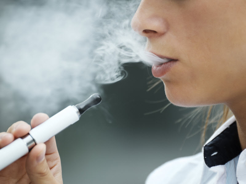 Study: chemicals in e-cigs linked to lung disease