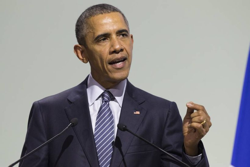 Obama Ignores 'Wrap-It-Up' Beeps, Talks and Talks at Climate Summit