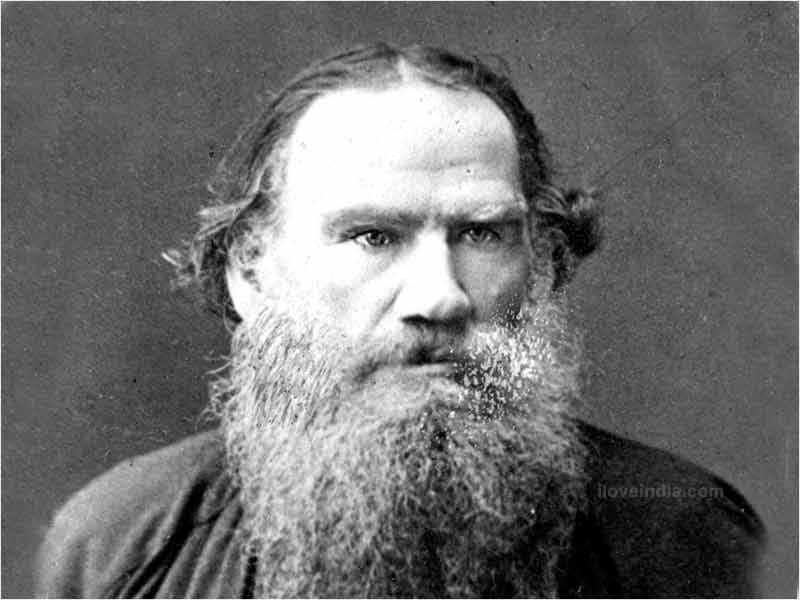 "Count Leo Tolstoy, the Russian author of ""War and Peace"" and other works Photo: AP"
