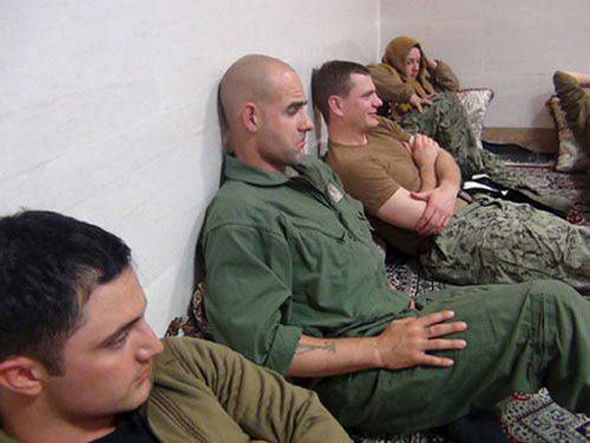 Iran captured 10 US sailors - one female.
