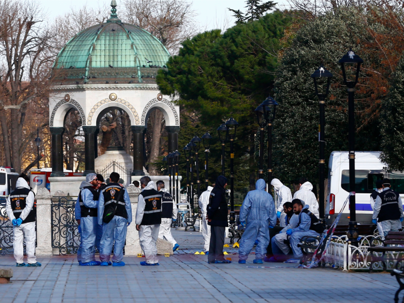 ISIS terrorists targeted tourists in Istanbul, Turkey.