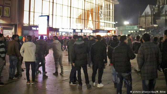On New Year's Eve, men of Moroccan, Algerian or Tunisian origin, aged between around 17 and 30, sexually harassed and attacked a large number of women in Cologne, Germany. (Photo: Deutsche Welle)