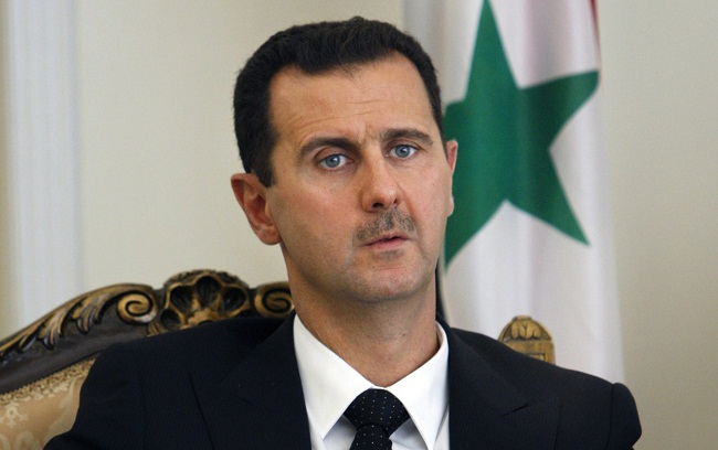 Syrian President Bashar al-Assad. Assad has been in power for 15 years since taking over from his father, Hafez al-Assad (president from 1971 until his death in 2000)