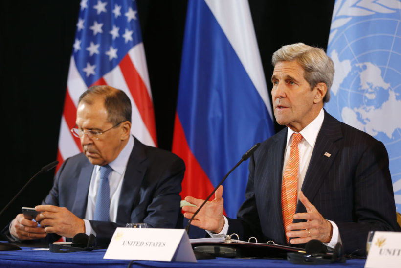 U.S., Russia Agree on Cease-Fire for Syria