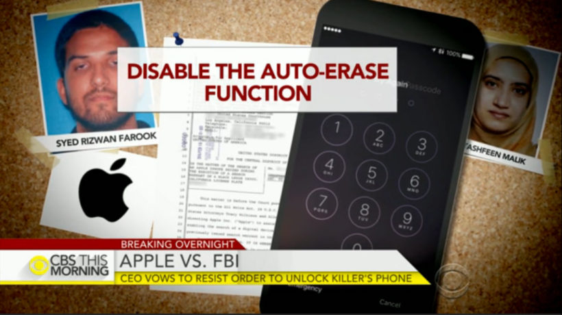 Apple refuses to unlock phone of San Bernardino terrorist