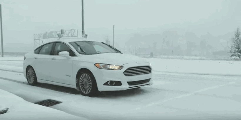 Driverless cars work great in sunny California. But how about in a blizzard?