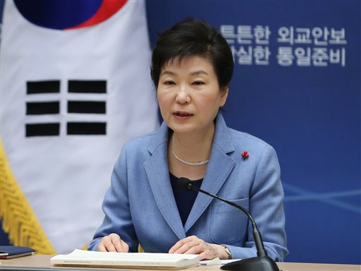 "South Korea President Park Geun-Hye (above) called the rocket launch early Sunday an ""intolerable provocation."" (Photo: Baek Seung-ryul/Yonhap via AP)"