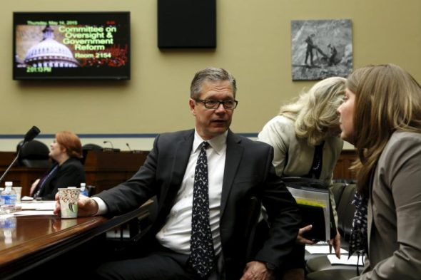 Homeland Security Inspector General John Roth waits to testify before a House Oversight and Government Reform hearing in Washington, D.C., May 14, 2015. (Photo: Reuters)
