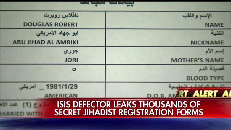 ISIS Documents Identify Thousands Of Jihadis