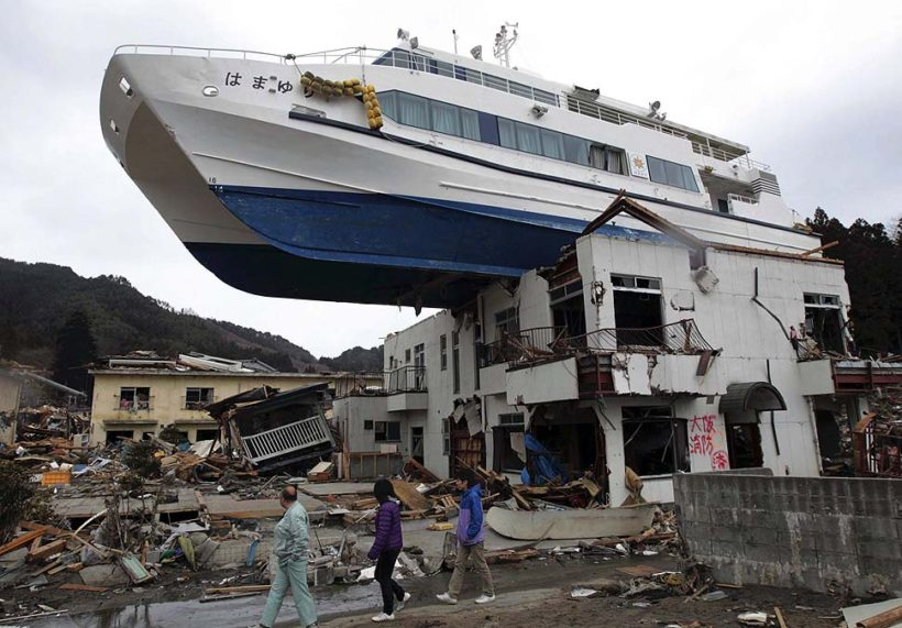 tsunami in japan On march 11, 2011, a magnitude-9 earthquake shook north-eastern japan,  setting free a savage tsunami the effects of the great earthquake.