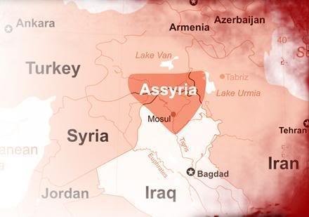 assyria-map