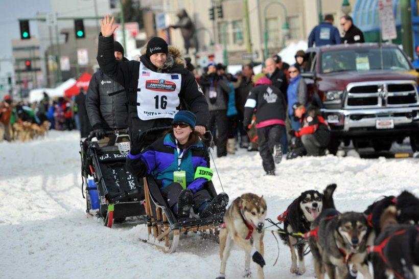 Three-time champion Seavey in lead halfway through Alaska's Iditarod