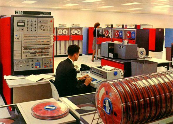 IBM mainframe computer, 1960s