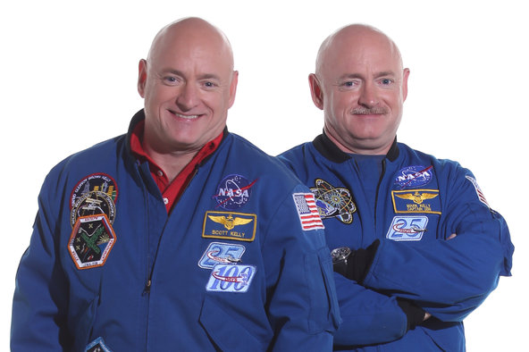 After a year in space, Scott Kelly returns 2 inches taller