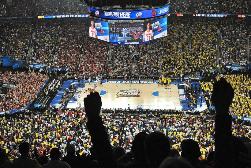 Networks air NCAA Basketball News 5 Times More Than U.S. Debt Crisis