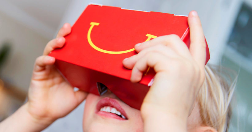 Happy Meal With a Side of Virtual Reality