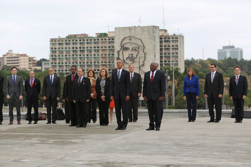 President Obama on visiting Cuba