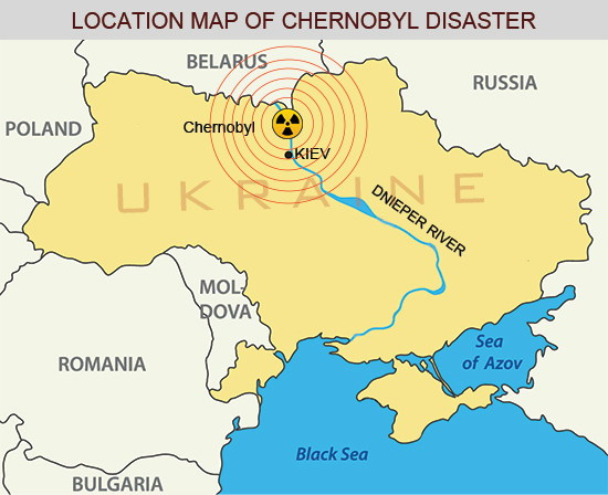 a history of the chernobyl nuclear disaster in ukraine Ukraine plant reactor, scene of worst nuclear accident in history in 1986, covered with airtight structure after years of work.