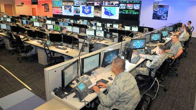 US Cyber Command personnel (file photo)