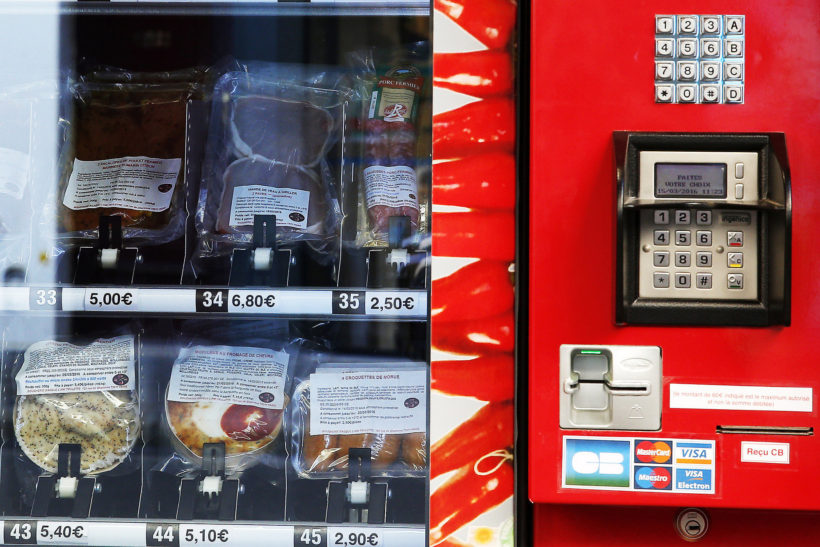 Paris gets first meat vending machine