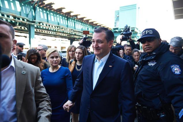 Cruz Gets a Bronx Cheer