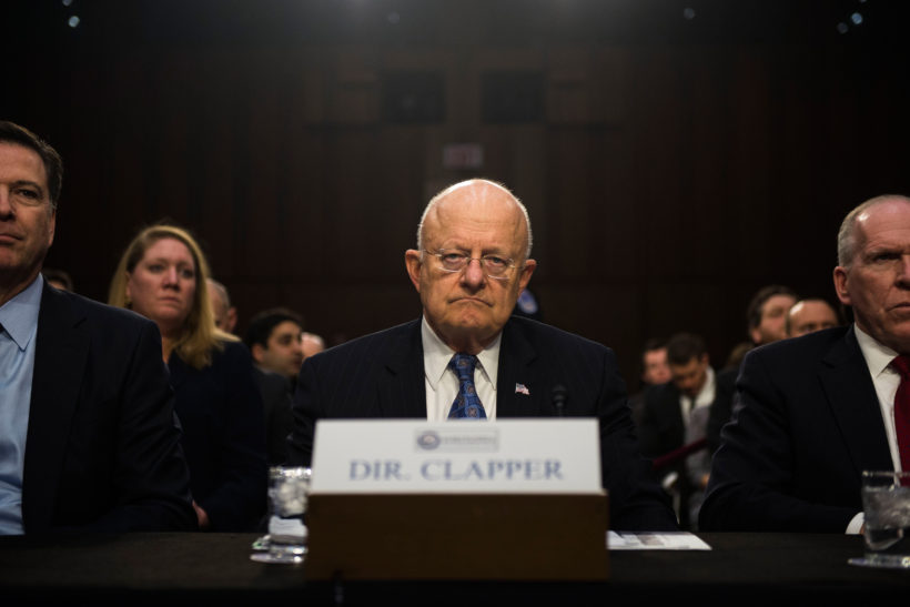 Hackers target presidential candidates, U.S. spy chief says
