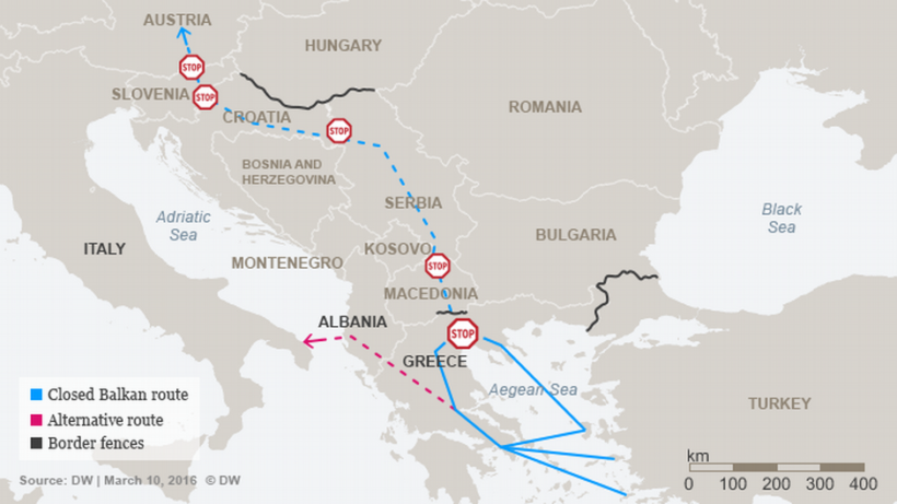 map-migrant-route