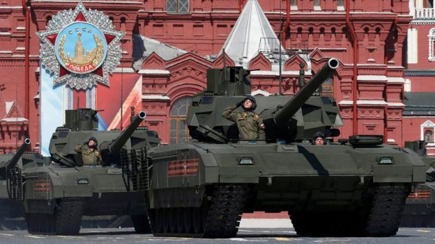 Russia's new highly automated T-14 Armata tank is replacing older models.