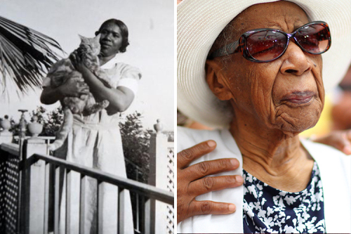 Susannah Mushatt Jones (July 6th 1899 to May 12th 2016) of New York was the oldest living person in the world till she died this past week at the Vandalia Senior Center in East New York, Brooklyn. She was 116 years old. She was the last living person in the US who was born in the 1800s.