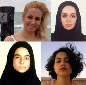 Iranian journalist Masih Alinejad posts pictures of women in Iran without their compulsory hijabs — and gives voice to their struggle for freedom and equality.