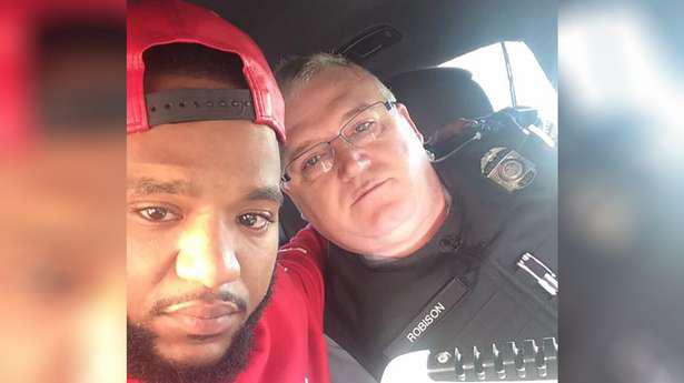 Grieving man stopped for speeding