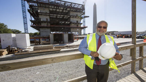 Lonnie Bunch, founding director of the Smithsonian National Museum of African American History and Culture.