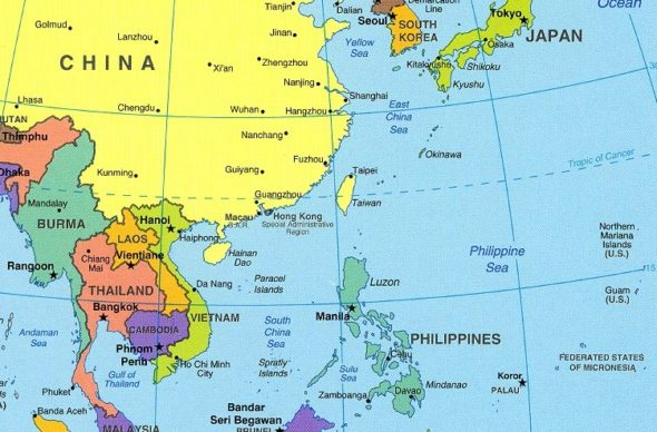 Philippine leaders gum chewing worries japan philippines map in japan gumiabroncs Images