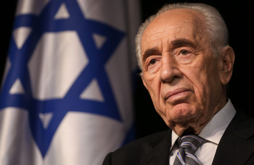 Shimon Peres, the last of Israel's founding leaders, dies at 93